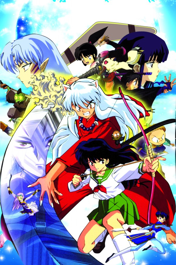Inuyasha 3 2016 Hot sale Japanese Anime Home Decor Scroll Paintings Art Canvas Wall Picture