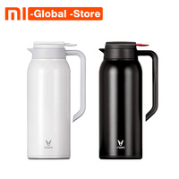 Newest Original Xiaomi Mijia VIOMI Thermo Mug 1.5L Stainless Steel Vacuum Bottle Cup Thermo 24h Keep Warm For xiaomi smart home