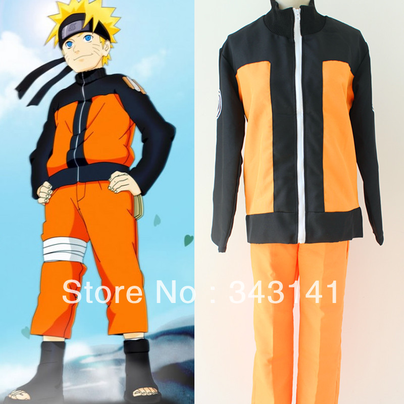 Free shipping font b Naruto b font font b Cosplay b font Costume font b Naruto