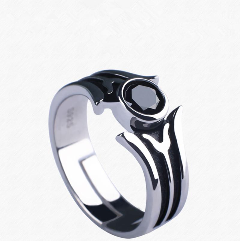 Sword Art Online Ring Black and White