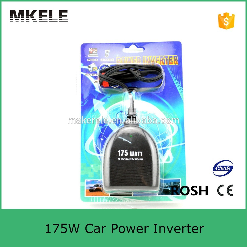 MKC175UX-122 175w power converter for car inverter 12v 220v power inverter 230v 12v inverter for car mobile power inverter 12v inverter for 20 30 meter long el wires