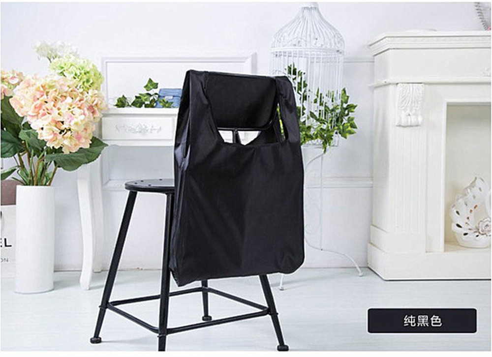 5PCS LOT Eco Shopping Storage Bag Foldable Reusable Vegetable Storage Bags For Supermarket Portable Pocket 57cmx35cm in Storage Bags from Home Garden