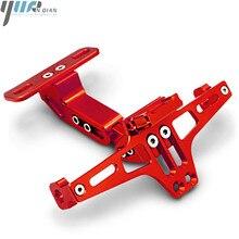 Para accesorios de la motocicleta Universal soporte para placa de matrícula para DUCATI 696 monstruo HYPERMOTARD 796 900SS