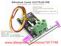Bidirectional DC Current Sensor Module Acs770lcb 100b Acs770lcb 100b Acs770 120kHz Bandwidth DC 100 100a 0