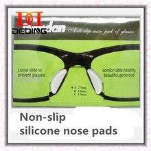 Новые очки-slip Носовые фиксирующие накладки Силиконовые носовые оптические очки TR90 очки Носовые фиксирующие накладки Óculos де силиконовые Almofadas Nariz DD0359