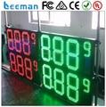 Leeman 10 дюймов 8.889 led азс цена с CE Открытый большой 7 сегмент большой светодиодный цифровой дисплей для азс цена знаки
