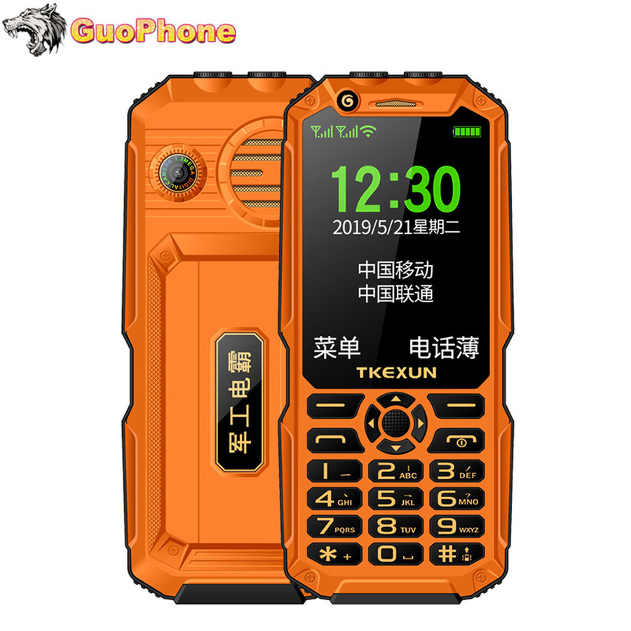 TKEXUN Q8A téléphone antichoc 3.0
