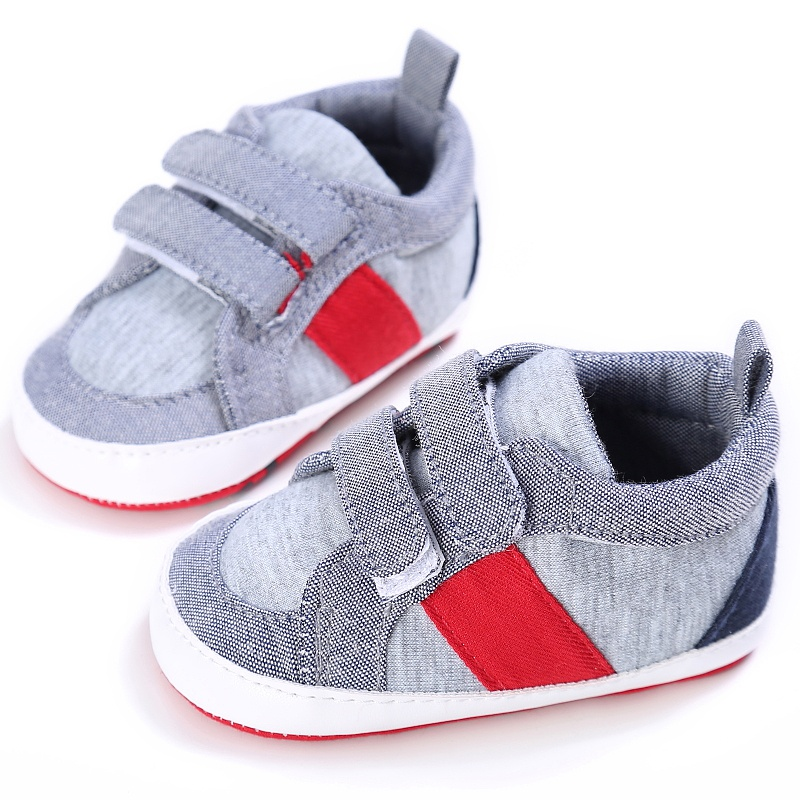 Baby Shoes The First Walker 2018 New Baby Boy Shoes Good Quality Grey Two Strap Newborn Baby Girl Toddler