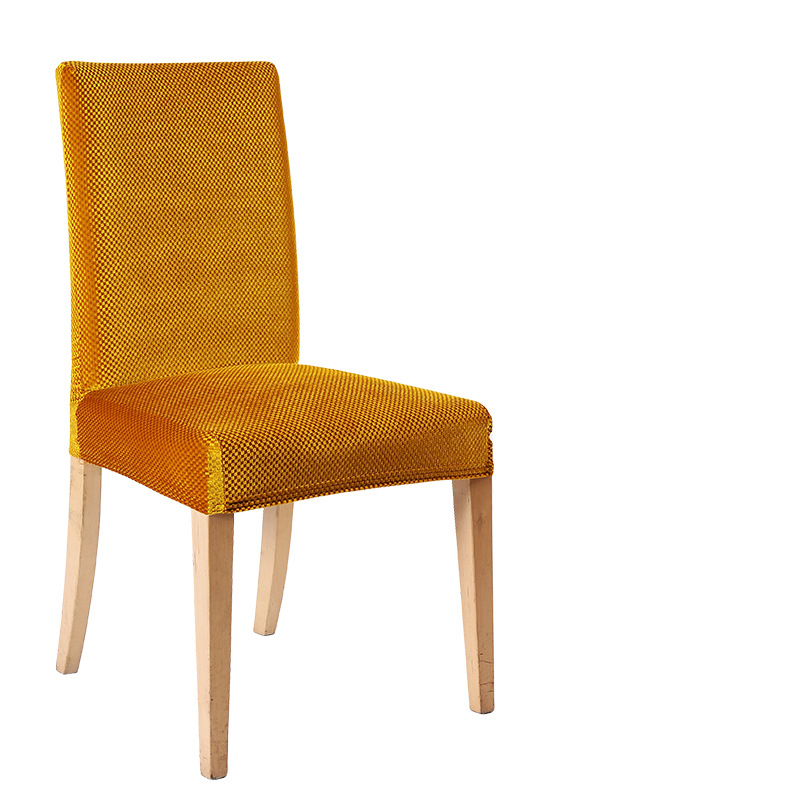 Terciopelo del oro cubierta de la silla elástica nueva llegada ...