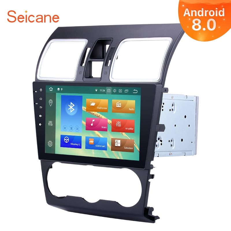 Seicane Android 8,0 9 дюймов 2Din автомобиля Радио Стерео Аудио мультимедийный плеер gps головное устройство для 2016 2015 2014 Subaru WRX forester