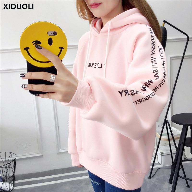 Honey Women Army Bts Bt21 Printed Hoodies Crop Tops Cute Cat Ear Long Sleeve Shirts Cropped Hooded Harajuku Kawaii Pullover Sweatshirt Women's Clothing