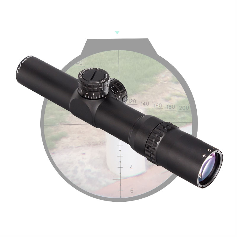 Hunting Rifle Scope 4.5x24 30mm Tube Tactical Optics Sight 1/2 Half Mil Dot Reticle Turrets Reset Riflescope compact m7 4x30 rifle scope red green mil dot reticle with side attached red laser sight tactical optics scopes riflescope