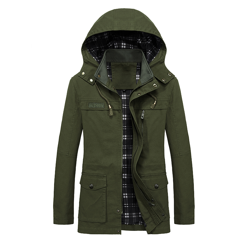 drop shipping men winter jackets and coats casual men s parkas cotton padded outwer overcoat NXP24