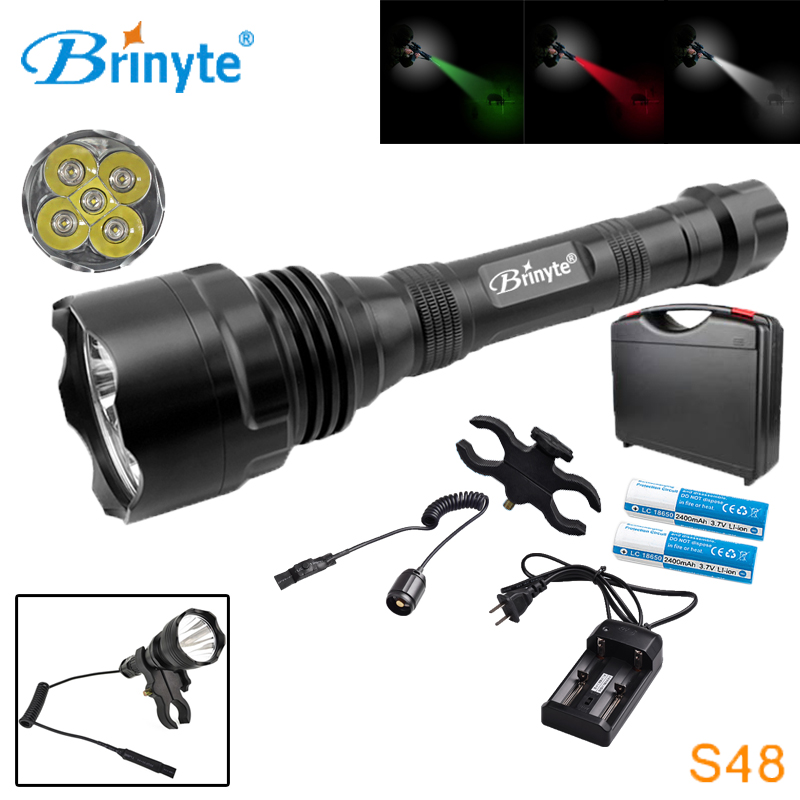 S48 High Power 1500 Lumens 5 CREE XR-E Q5 LED Police Security Flashlight Military Self-defense Torch with Battery Charger Mount охватывающие наушники audio technica ath m30x black