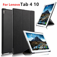 Case For Lenovo Tab 4 10 Covers Cases Leather Protective Protector Smart Tab410 PU TB X304L