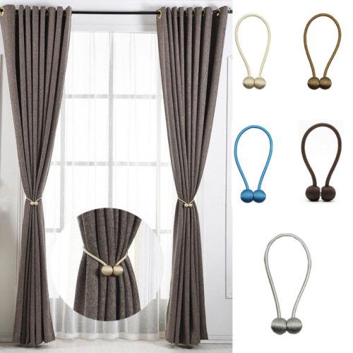 Magnetic Pearl Ball Curtain Tiebacks Tie Backs Holdbacks