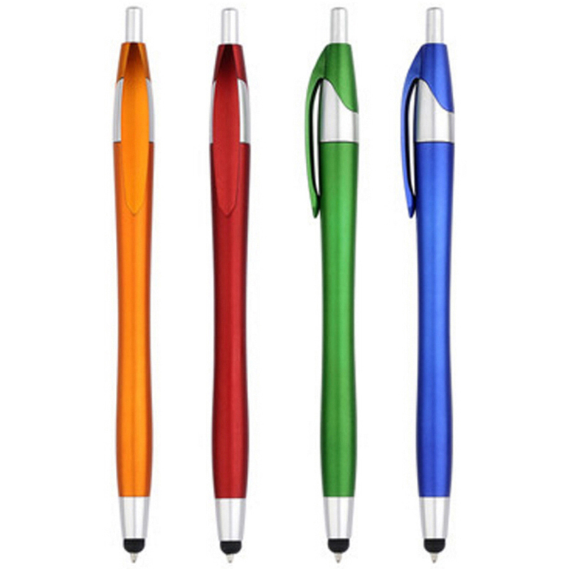 20pcs Stylus High Precision Capacitive Pen Ball Point Pens School Office Home Supplies Sign Pen Free Shipping Boligrafo De Gel
