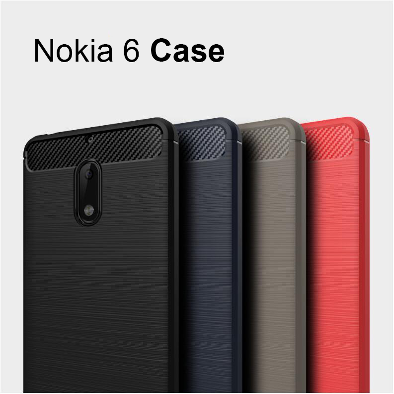 nokia 6 case cover original 2017 new nokia 6 cover silicon back coque android 7 phone fundas. Black Bedroom Furniture Sets. Home Design Ideas