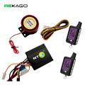 Motorcycle Anti-theft Alarm System Bike Security Anti-hijacking Alarm System with 2 Ways Remote Comtrol