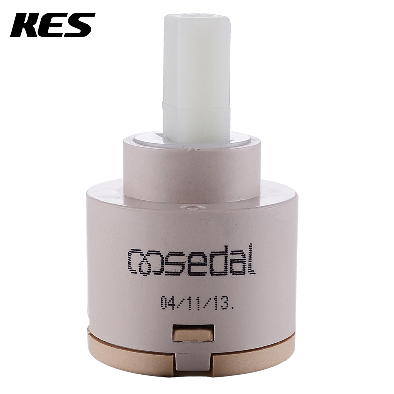 KES PC1S35/40 Replacement Single Handle Faucet Cartridge Ceramic Disc Valve 35mm/40mm Diameter, SEDAL from Europe