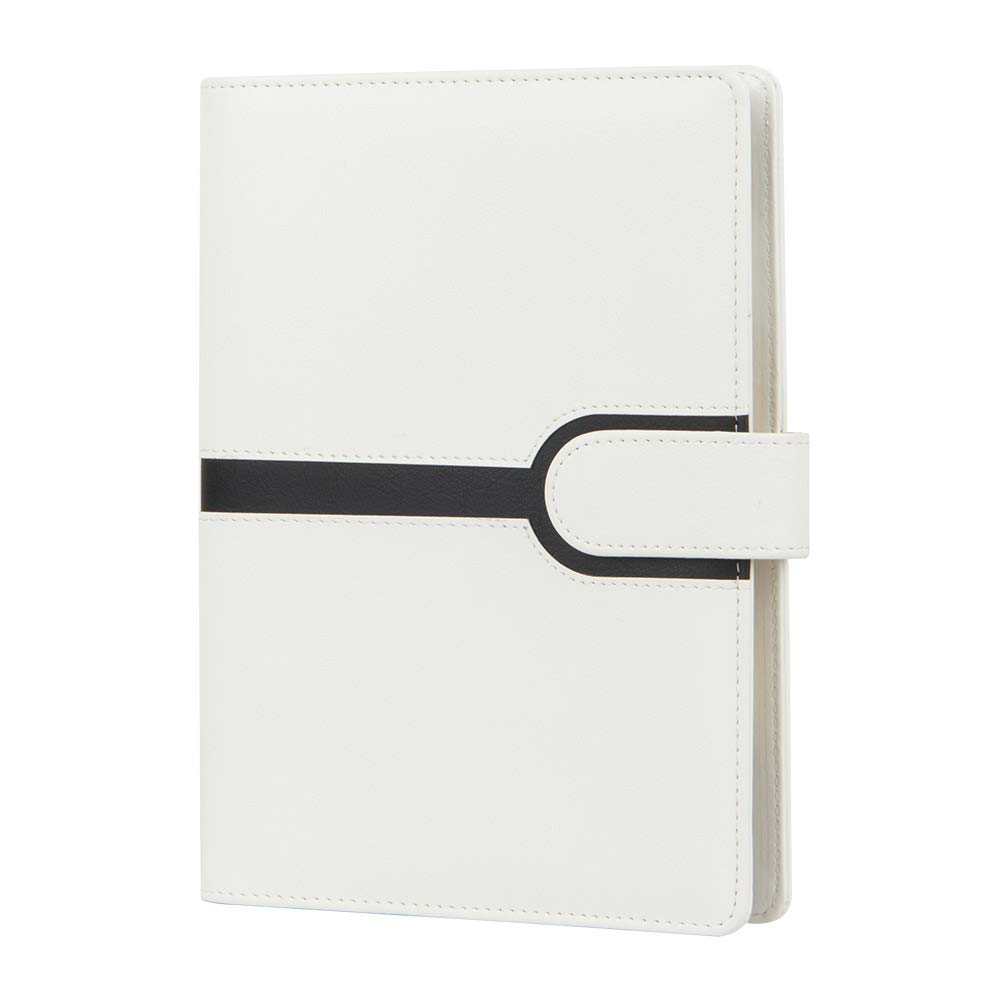 Image 4 - Harphia Binder planner Creative A5 Refillable Spiral Loose Leaf Notebook Travel Journal color contrast filofax agenda-in Notebooks from Office & School Supplies