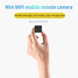 mini wireless camera Full HD video 1080p DV WLAN Mini IP Mini IP monitor camera and motion sensor the best portable wifi cam