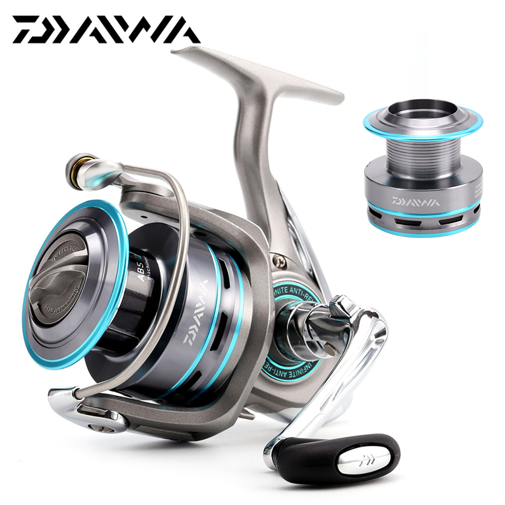 DAIWA fishing reel PROCASTER A 1500 2000 2500 3000 4000 Spinning fishing reel 7BB saltwater Carp feeder+Spare metal spool nunatak naga 5 2 1 4 7 1 11bb 7 5kg spinning fishing reel 2000 3000 4000 5000 spinning wheel fishing tackle with spare spool
