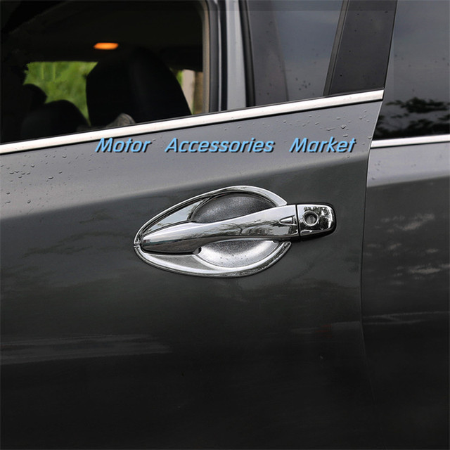 New Chrome Door Handle Bowl Cup Trim For Nissan Altima 2013 2014 ...