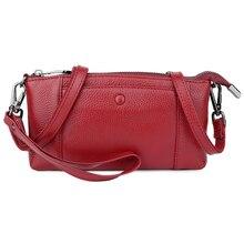 Bolsas Feminina Guaranteed Cowhide Leather Practical WomenCrass-body Bags 2018 Hot Brand Designer Flap Ladies Messenger