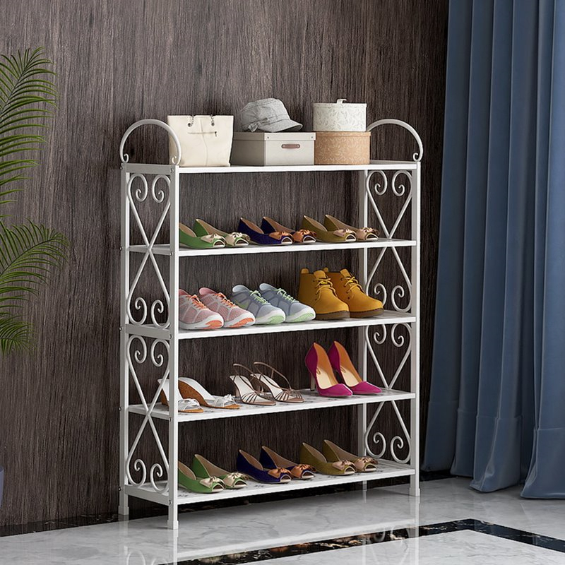 Simple Shoe Rack Home Economic Dormitory Dustproof Cabinet Space Assembly Home People Door Small Zapatero Organizador De Zapatos(China)