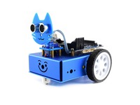Waveshare KitiBot starter 2WD robot building kit for BBC micro:bit smart car for learning programming exploring robotics