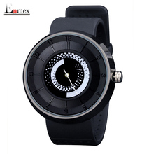 2017 men's gift Enmex men women creative black fire design wristwatch breathe freely strap sports casual fashion quartz watches