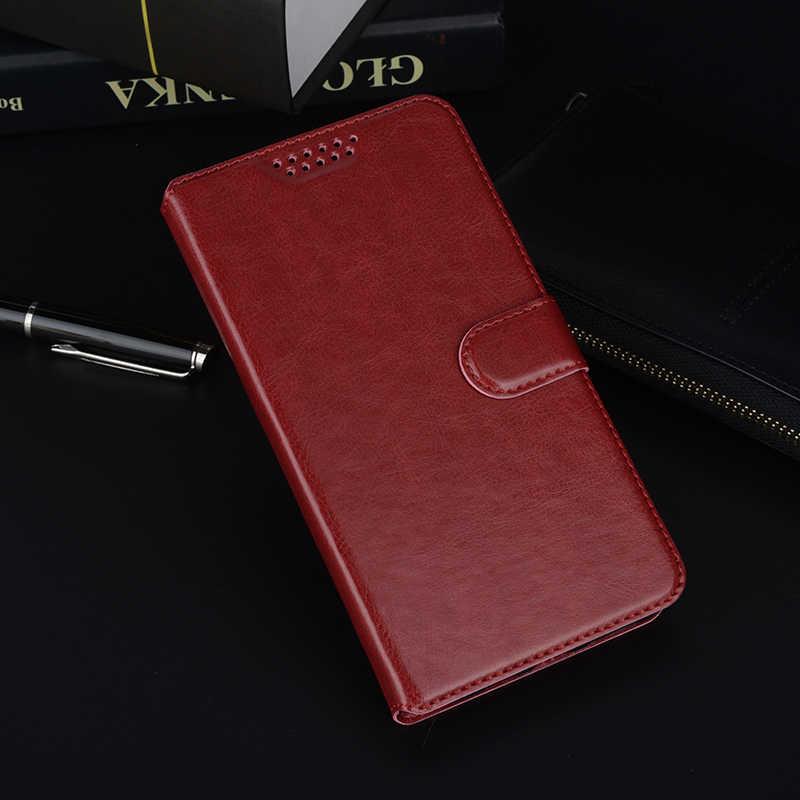 Etui z klapką luksusowe PU skóra + portfel pokrywy skrzynka dla Infinix Hot S S3 4 5 inteligentny ciepłej uwaga S3X 6 Pro X521 X573 X557 X559C etui Funda