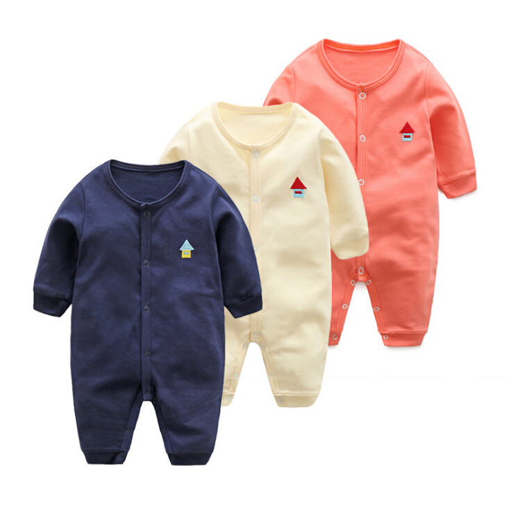 Baby Girl Rompers 100% Cotton Overalls Autumn winter Kids Long Sleeve Jumpsuits Newborn Infantil Boys Clothes Baby Costume bebes baby rompers 2016 spring autumn style overalls star printing cotton newborn baby boys girls clothes long sleeve hooded outfits