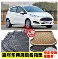 Tronco Bandeja Liner Carga Mat Piso Protector pé pad mats Para Ford FIESTA hatchback 2009-2012 2 cores