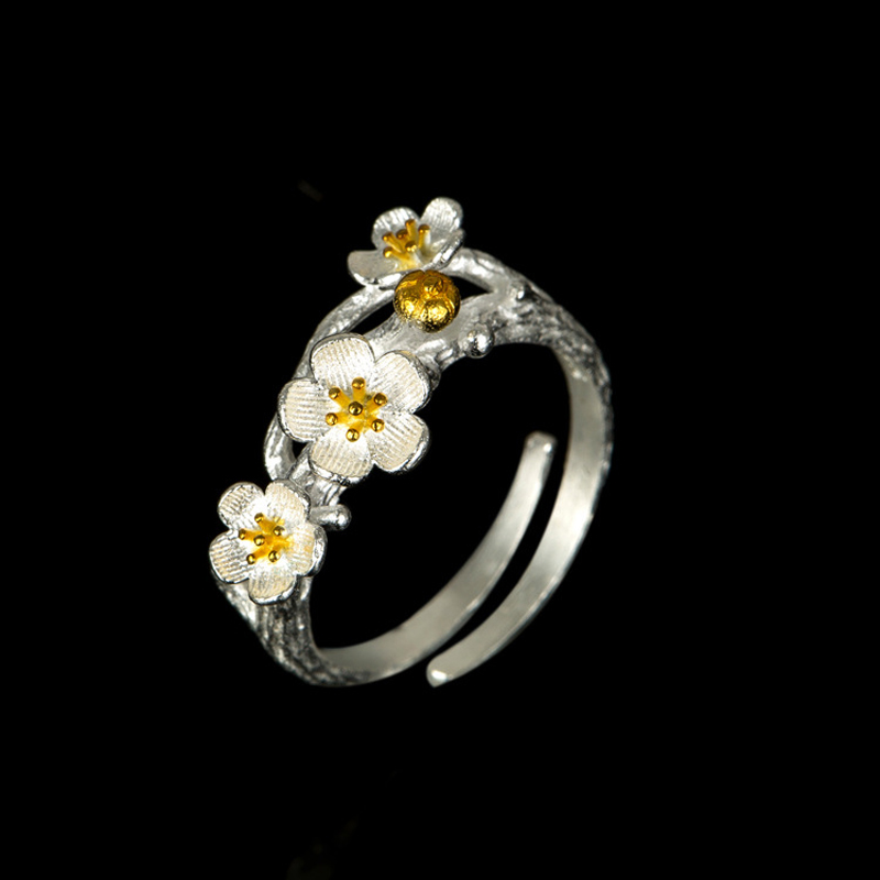Nuevas llegadas 925 anillos de plata esterlina para mujer joyería de - Joyas - foto 5