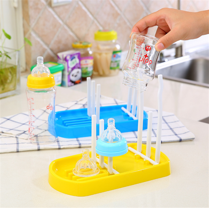 Tree Shape Baby Bottle Drying Rack Infant Feeding Bottle