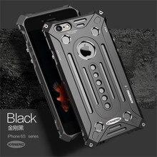 Kaneng бренд Тор Роскошные тяжелых Броня Металл алюминиевая мешок мобильного телефона Чехлы для Apple iPhone 7 7 Plus 5 5S SE 6 6 S плюс крышка