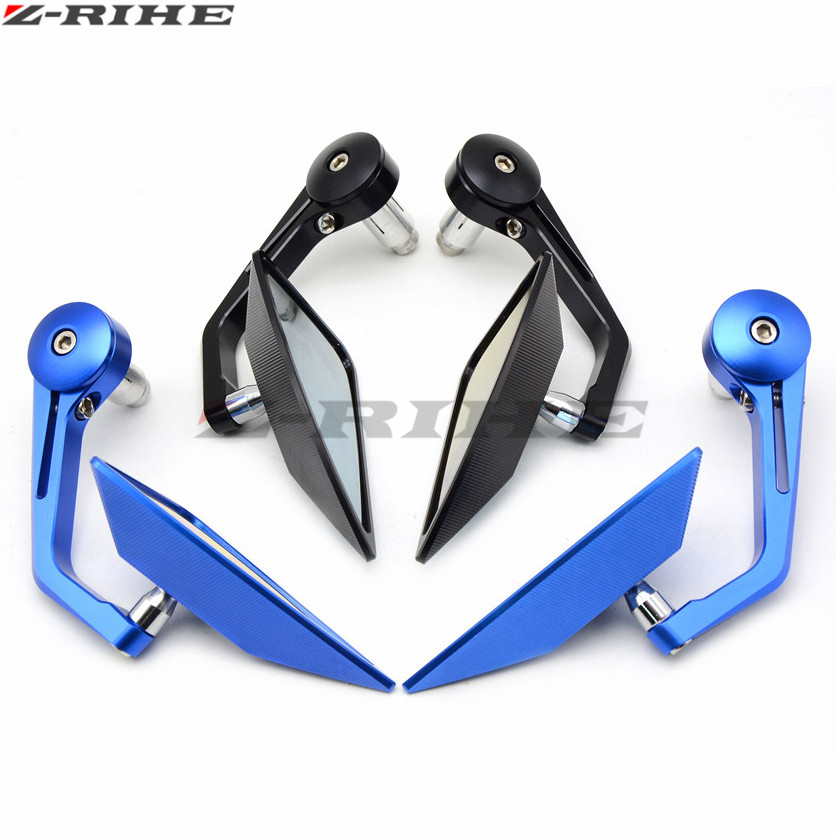Universal 7/8 22mm handle bar motorcycle bar end mirror Motorcycle Mirror for SUZUKI GSF 600 Bandit S-X 1995 - 1999 1998 97 22mm 7 8 motorcycle cnc aluminum handlebar grips bar ends sliders for mv agusta f4 750 s f4 1000 rr suzuki gsf 600 bandit gsf