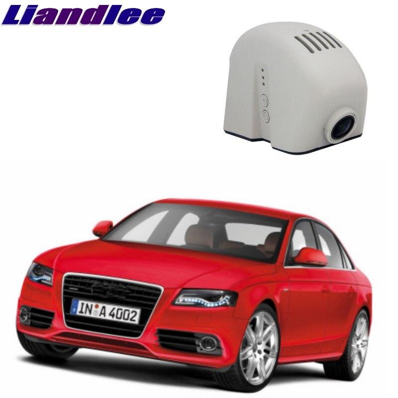 Liandlee For Audi A4 A4L S4 RS4 B8 2008~2016 Car Black Box WiFi DVR Dash Camera Driving Video Recorder bigbigroad for audi a4l a4 2017 high configuration car wifi dvr video recorder dash cam novatek 96655 black box fhd 1080p