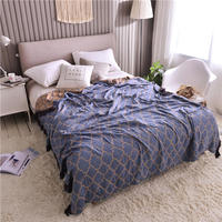 High Quality Bamboo Fiber Blankets Bedspreads Beds Mantas Cobertor Summer Air condition Blanket Throw Blankets for Car Sofa