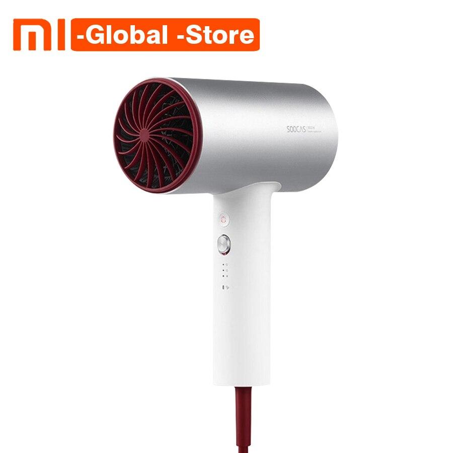 Xiaomi Soocare Soocas H3 1800 W Anion Sèche-Cheveux Corps En Alliage D'aluminium Sortie D'air Anti-Chaude Innovante Détournement Pour maison intelligente Kits