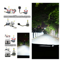 2X H11 12v Led Car Conversion Bulbs Kit White Headlamp H1 H3 H4 H7 H8 H9