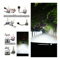 2X H11 12v Led Car Conversion Bulbs Kit White Headlamp H1 H3 H4 H7 H8 H9