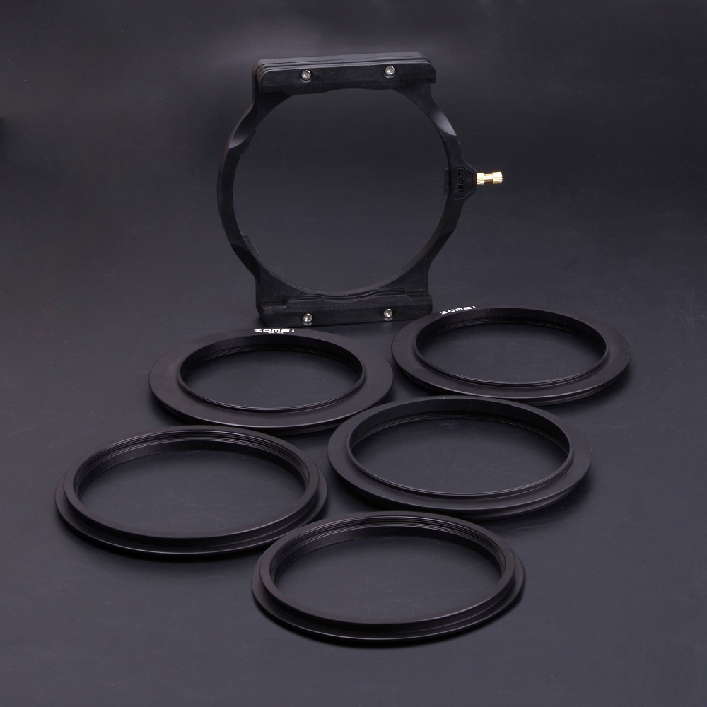 ZOMEI 67MM 72MM 77MM 82MM 86MM Adapter Ring + Holder For 100mm Square Filter Cokin Z Series Pro. цена