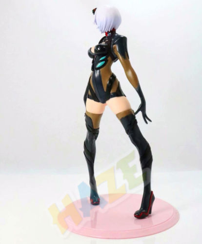 Neon Genesis Evangelion Rei Ayanami PVC Black Action Figure Model Toy No Box