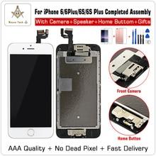 Aaa 품질 100% 좋은 작동 교체 아이폰 6 s p 7g lcd 디지타이저 터치 스크린 부품 + 선물 조립 완료