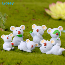 Mini Koala Fairy Garden resin cartoon ornaments gift toys DI