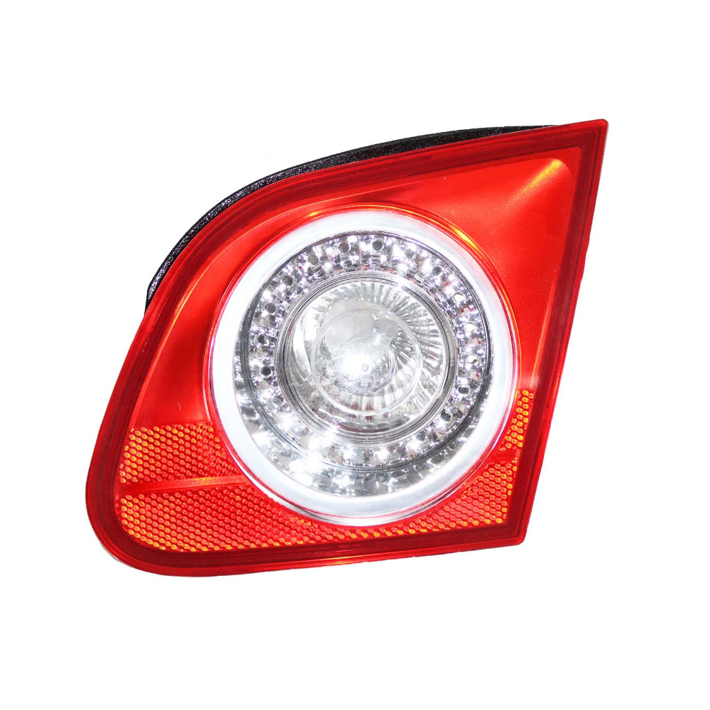 For VW Passat B6 Sedan 2006 2007 2008 2009 2010 2011 Rear Tail Light Lamp Right Side Inner Left-hand Trafic Only 3C5945094F red left right car rear side tail light brake lamp light for toyota hilux 2005 2006 2007 2008 2009 2010 2015 lh rh