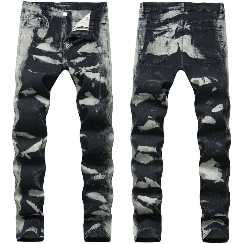 Jeans Men's New Skinny Fashion Pencil Pants Jeans Men's Large Size High Quality High Stretch Cotton Denim Pants